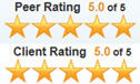 5.0 of 5.0 top rated by Lawyers.com